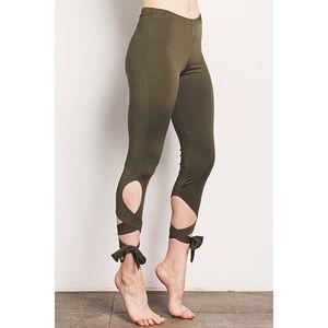 ballet inspired leggings sz S